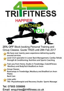 Get in shape and lose weight either with personal training or our group classes